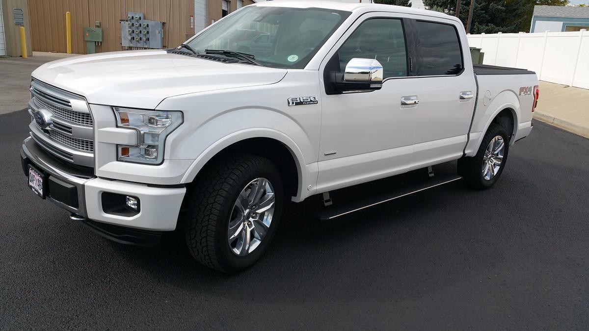 Ford F150 Platinum White 2016